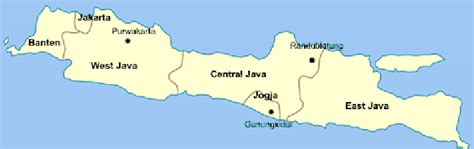 map   island  java indonesia teak tree samples