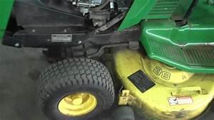 John Deere Lawn Mower With Bagger