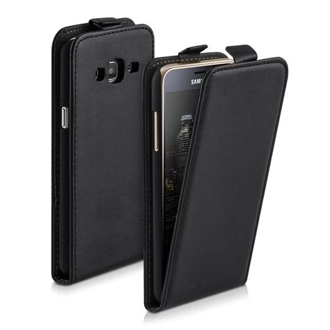 Flip Hülle für Samsung Galaxy J3 (2016) DUOS Cover real