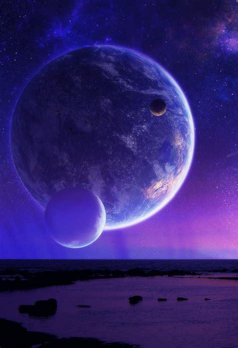 purple planets   aliens