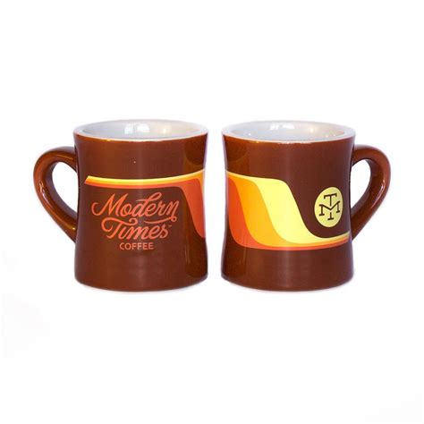 Here are my favorite cups and travel mugs. COFFEE MUG - Modern Times Beer