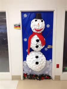 our office door decorating contest entry frosty s winter