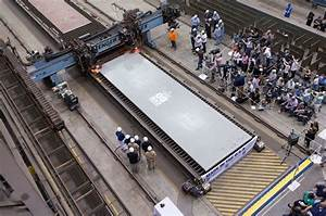 HII Cuts First Steel For Aircraft Carrier Enterprise CVN