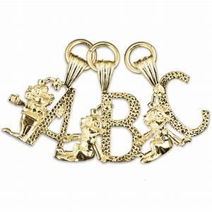 clown alphabet letter charm pendant charms direct With alphabet letter charms
