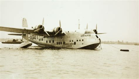 Flying Boat Australia by Photograph Imperial Airways Empire Flying Boat