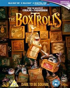 The Boxtrolls 3D Blu-ray Zavvi com