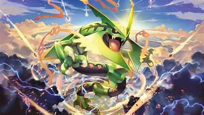Mega Rayquaza Wallpapers Anime Legendary Poka Mon