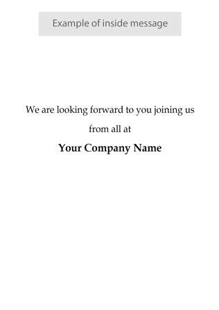 Employee Welcome - W13 - Corporate Greetings UK