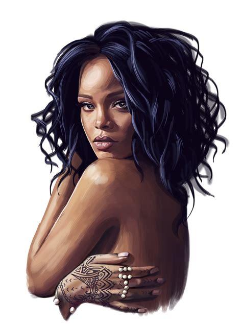 Rihanna on Behance