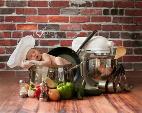images  baby chef photoshoot  pinterest