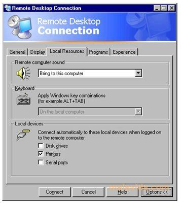remote desktop connection    pc