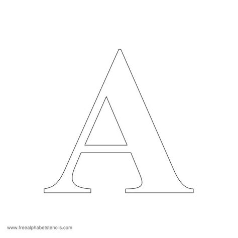 free letter stencils printable large letters cover letter exles 22179
