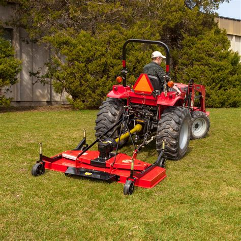 Dr 72 Inch Three Point Hitch Finish Mower  Dr Power Equipment