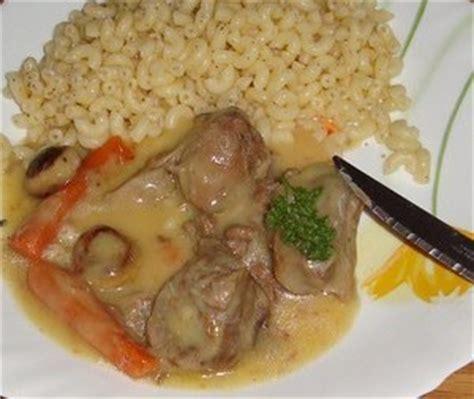 recette de cuisine blanquette de veau blanquette de veau recette iterroir