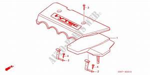 Engine Cover  Type R  For Honda Cars Civic Type R 3 Doors