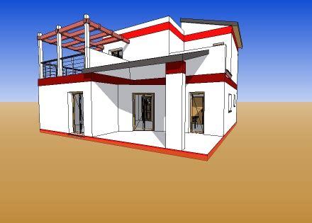 plan de maison moderne type 3 110m 178 d architecte 112 villa contemporaine