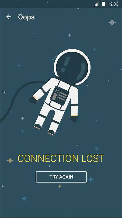 Lost Connection Screen Google Animated App Giphy