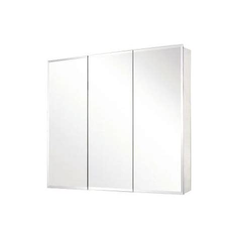 home depot recessed medicine cabinets with mirrors pegasus 36 in x 31 in recessed or surface mount medicine