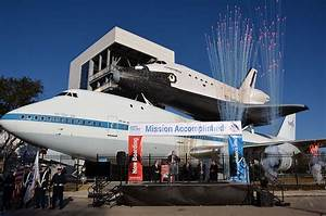Mission accomplished! 747-space shuttle exhibit launches ...