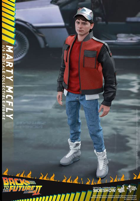 marty mcfly hot toys     future action