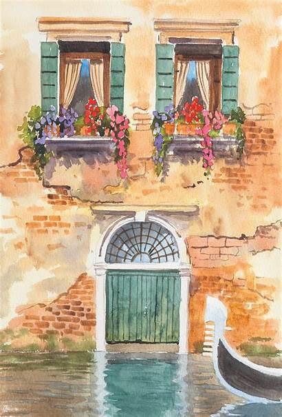 Watercolour Painting Watercolor Easy Landscapes Landscape Paintings