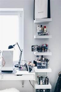 Nagellack Regal Ikea : meine neue schminkecke inklusive praktischer kosmetikaufbewahrung beauty pinterest ~ Markanthonyermac.com Haus und Dekorationen