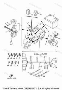 Yamaha Scooter 2007 Oem Parts Diagram For Electrical