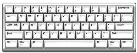 Computer Keyboard Illustration Stock Image