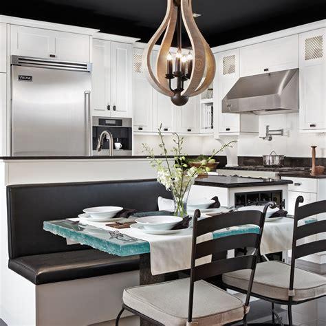 cuisine en noir decoration cuisine blanc noir