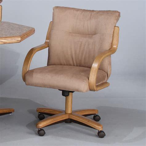 Chromcraft Swivel Kitchen Chairs by Chromcraft Tilt Swivel Arm Chair Set Of 2 Modern