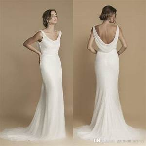 greek goddess cowl back wedding dress fall 2016 mermaid With cowl back wedding dress