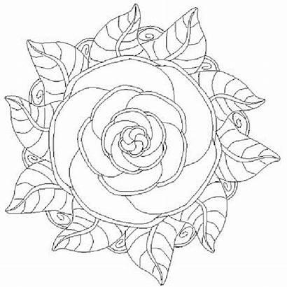 Flores Imprimir Colorear Mandalas Pintar Mandala Dibujos
