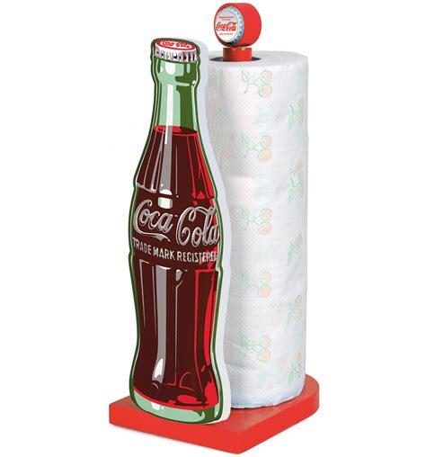 coca cola kitchen accessories coca cola bottle wooden kitchen roll holder 5519