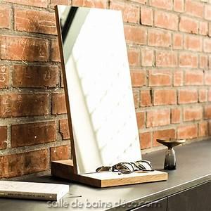 Table D Appoint Miroir : miroir d 39 appoint en bois insert mirror hesperide de ~ Teatrodelosmanantiales.com Idées de Décoration