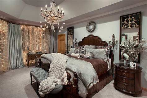 christmas decor mediterranean bedroom chicago