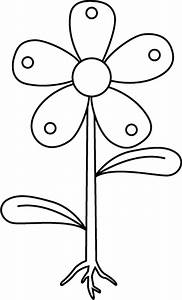 Free Unlabeled Flower Diagram  Download Free Clip Art
