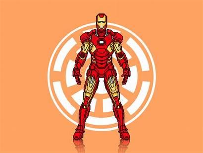 Iron Ironman Suit Armor Superhero Illustration Marvel