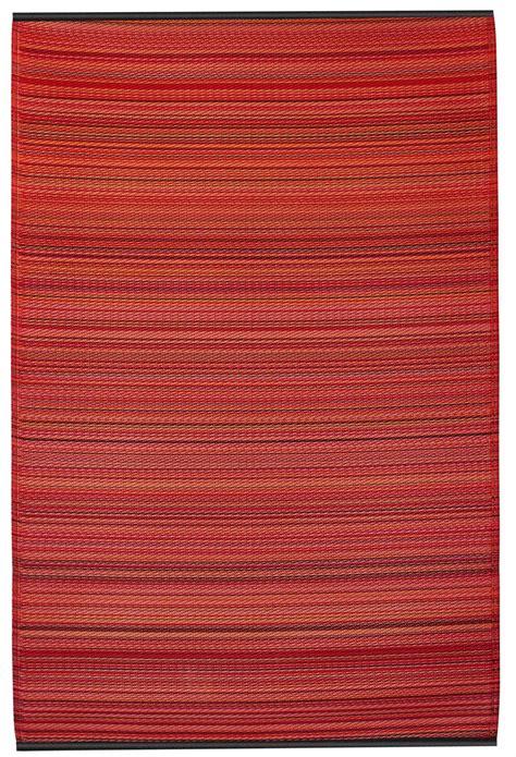 outdoor teppich rot garten im quadrat outdoor teppich cancun streifen rot