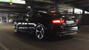 Audi S5 4 2 V8 Loud Exhaust Crackling Popping Machine Gun