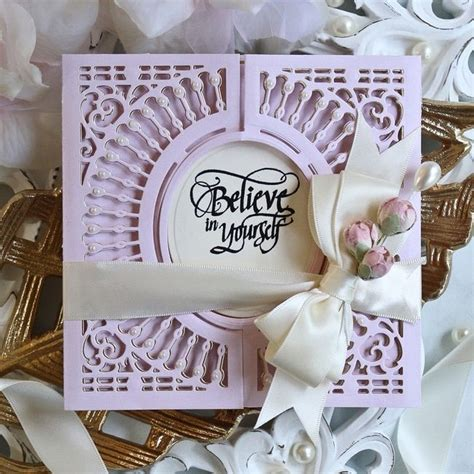 enchantment tall flip  gatefold card apg die