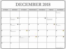 December 2018 calendar 56+ calendar templates of 2018