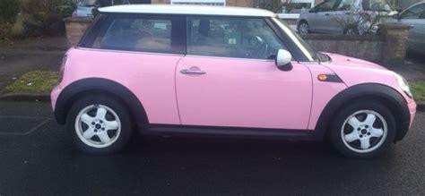 pink mini cooper  sale  deans grange dublin  lbonner