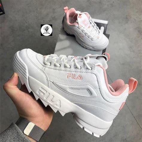 Sepatu Fila Black jual sepatu sneakers fila disruptor ii white pink premium