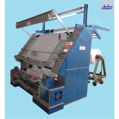 batch  roll fabric inspection machine usage textile