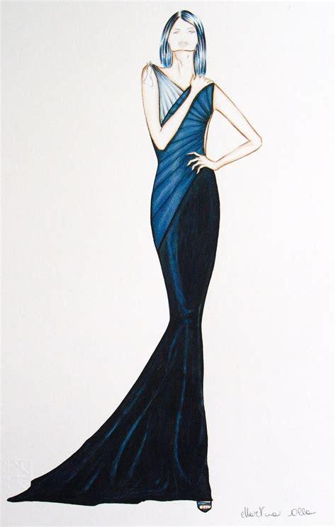 di moda martina olla fashion design figurini di moda collezione a