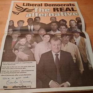 How does the 2015 Lib Dem manifesto front page compare to ...