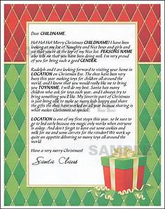 mail santa letter present With mail santa a letter