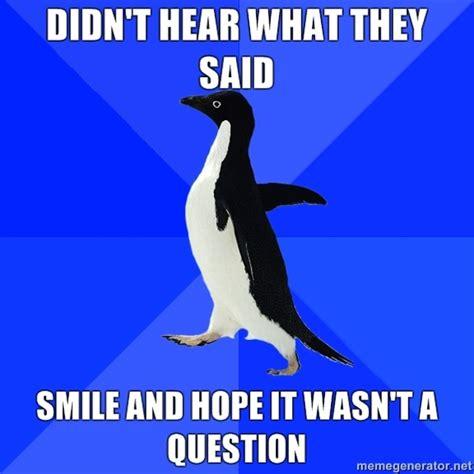Socially Awkward Penguin Meme - gay teen forum what s your favorite internet meme