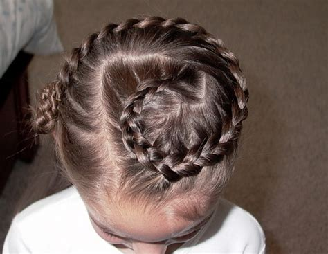 braided hairstyles for flower girls
