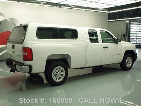 buy   chevy silverado ext cab camper shell tow